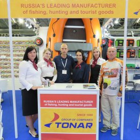 TONAR presented the products at EFTTEX exhibition in Amsterdam.